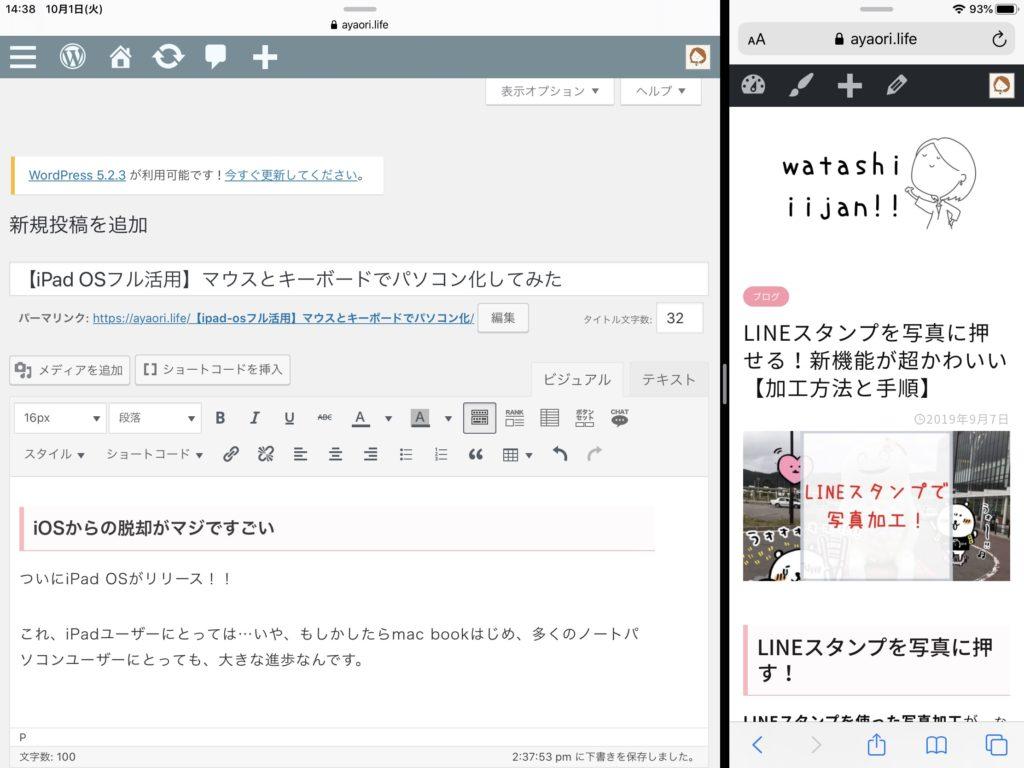 iPad OS Spritview